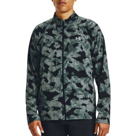 アンダーアーマー Under Armour メンズ ジャケット アウター【Storm Launch 3.0 Printed Jacket】Lichen Blue/Black