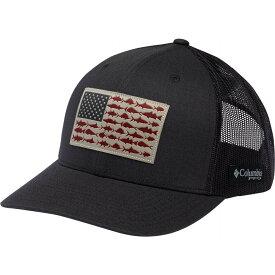 コロンビア Columbia メンズ キャップ スナップバック 帽子【PFG Mesh Snapback Fish Flag Hat】Shark/Fish Flag