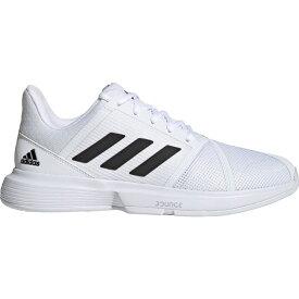 アディダス adidas メンズ テニス シューズ・靴【CourtJam Bounce Tennis Shoes】White/Silver Metallic