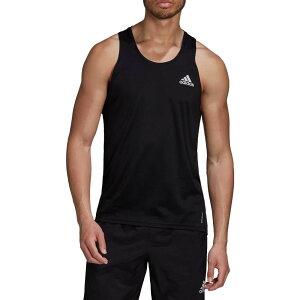 アディダス adidas メンズ ランニング・ウォーキング タンクトップ トップス【Own The Run Singlet Tank Top】Black