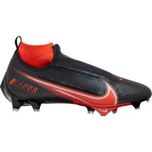 ナイキ Nike メンズ アメリカンフットボール スパイク シューズ・靴【Vapor Edge Pro 360 Football Cleats】Black/Orange