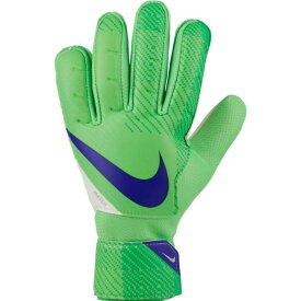 ナイキ Nike ユニセックス サッカー ゴールキーパー グローブ【Soccer Goalkeeper Match Gloves】Green/White/Indigo Burst
