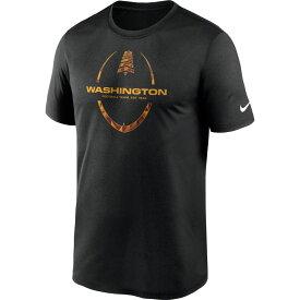 ナイキ Nike メンズ アメリカンフットボール Tシャツ トップス【Washington Football Team Legend Icon Black T-Shirt】