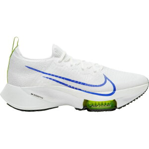 ナイキ Nike メンズ ランニング・ウォーキング エアズーム シューズ・靴【Air Zoom Tempo Next% Running Shoes】White/Blue/Black