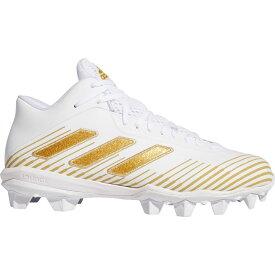 アディダス adidas メンズ アメリカンフットボール スパイク シューズ・靴【Freak MD Football Cleats】White/Gold