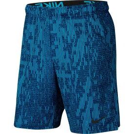 ナイキ Nike メンズ ラクロス ドライフィット ショートパンツ ボトムス・パンツ【Dri-FIT Allover Print Training Shorts】Blue Void/Black