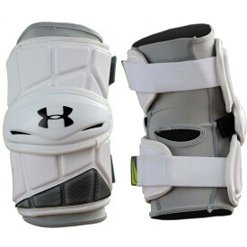 アンダーアーマー Under Armour メンズ ラクロス プロテクター【Command Pro 3 Lacrosse Arm Pads】White
