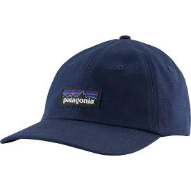 パタゴニア Patagonia メンズ 帽子 【P-6 Label Traditional Hat】Classic Navy