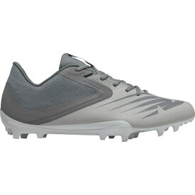 ニューバランス New Balance メンズ ラクロス スパイク シューズ・靴【Rush V2 Lacrosse Cleats】Grey/Grey