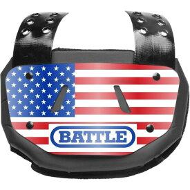 バトル Battle ユニセックス アメリカンフットボール 【Adult Chrome Football Back Plate】Red/White/Navy