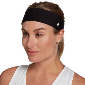 プリンス Prince レディース ヘアアクセサリー ヘッドバンド【Tech Tennis Headband】Black