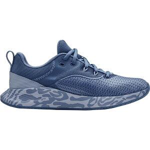 アンダーアーマー Under Armour レディース ランニング・ウォーキング シューズ・靴【Charged Breathe TR 3+ Training Shoes】Blue/Gold