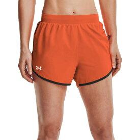 アンダーアーマー Under Armour レディース ランニング・ウォーキング ショートパンツ ボトムス・パンツ【Fly By 2.0 Shorts】Blaze Orange