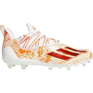 アディダス adidas メンズ アメリカンフットボール スパイク シューズ・靴【adizero 11.0 Comics Football Cleats】White/Orange