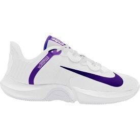 ナイキ Nike メンズ テニス シューズ・靴【Court Air Zoom GP Turbo Tennis Shoes】White/Purple