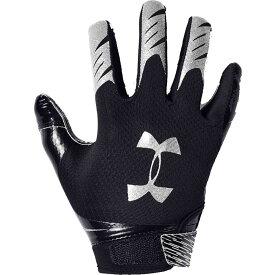 アンダーアーマー Under Armour ユニセックス アメリカンフットボール グローブ【F7 Football Gloves】Black/Silver
