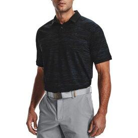 アンダーアーマー Under Armour メンズ ゴルフ ポロシャツ トップス【Iso-Chill ABE Twist Golf Polo】Academy/Black