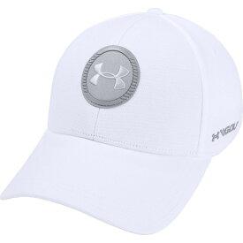 アンダーアーマー Under Armour ユニセックス ゴルフ 【Jordan Spieth Iso-Chill Tour 2.0 Golf Hat】White/Gray