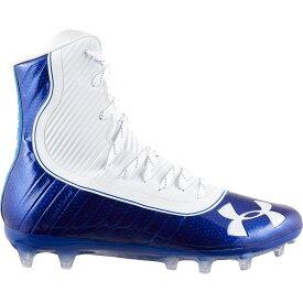 アンダーアーマー Under Armour メンズ アメリカンフットボール スパイク シューズ・靴【Highlight MC Football Cleats】Royal/White