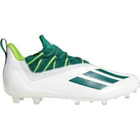アディダス adidas メンズ アメリカンフットボール スパイク シューズ・靴【adizero 11.0 Football Cleats】White/Green