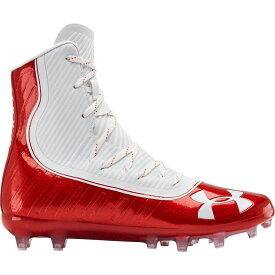 アンダーアーマー Under Armour メンズ アメリカンフットボール スパイク シューズ・靴【Highlight MC Football Cleats】Red/White