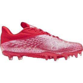 アンダーアーマー Under Armour メンズ アメリカンフットボール スパイク シューズ・靴【Blur Smoke MC Football Cleats】Red/Red