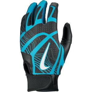 ナイキ Nike ユニセックス 野球 バッティンググローブ グローブ【HyperDiamond Edge Batting Gloves】Black/Green/White