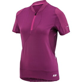 ルイガノ LOUIS GARNEAU レディース 自転車 トップス【Gloria Short-Sleeve Cycling Jersey】MAGENTA PURPLE