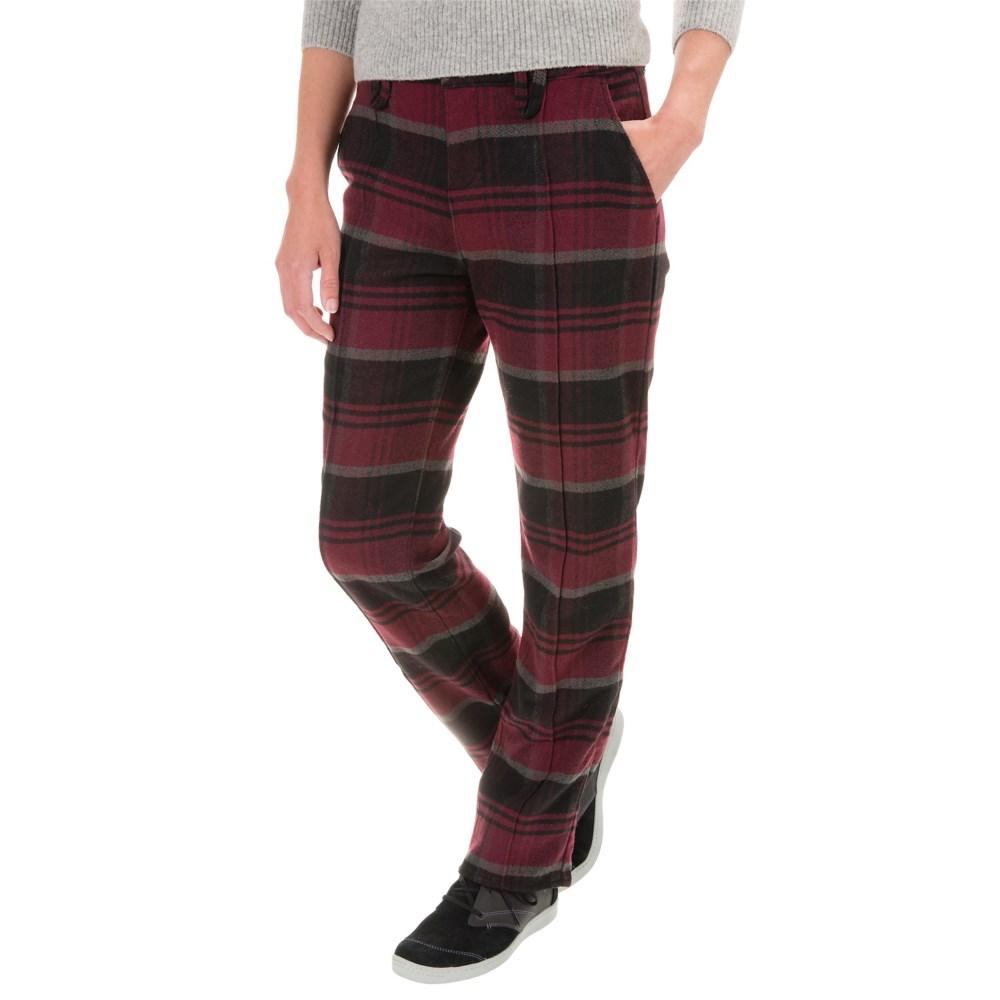 ウールリッチ レディース ボトムス・パンツ【Richville Plaid Pants - Slim Fit】Fig