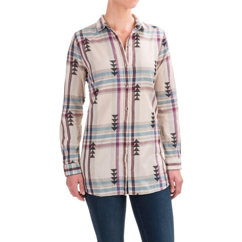 ウールリッチ レディース トップス ブラウス・シャツ【First Light Jacquard Shirt - Long Sleeve】Silver Gray