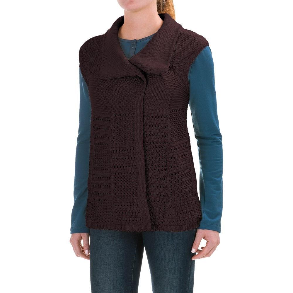 ウールリッチ レディース トップス ベスト・ジレ【Poppy Ridge Sweater Vest】Burgundy