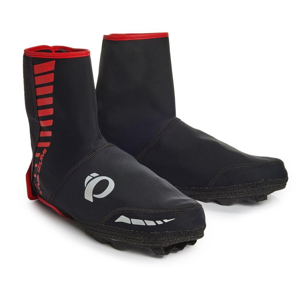 パールイズミ レディース 自転車【ELITE Soft Shell MTB Shoe Covers】Black
