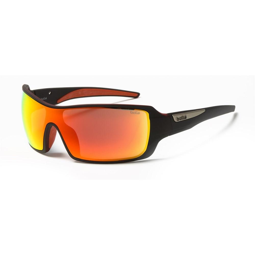 ボレー メンズ メガネ・サングラス【Diamondback Sunglasses】Matte Black/Red/Fire