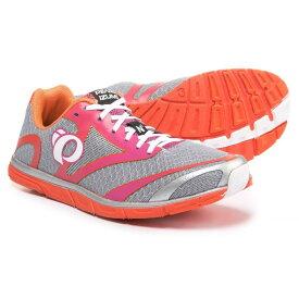 パールイズミ レディース ランニング・ウォーキング シューズ・靴【E:MOTION Road N0 V2 Running Shoes】Silver/Clementine