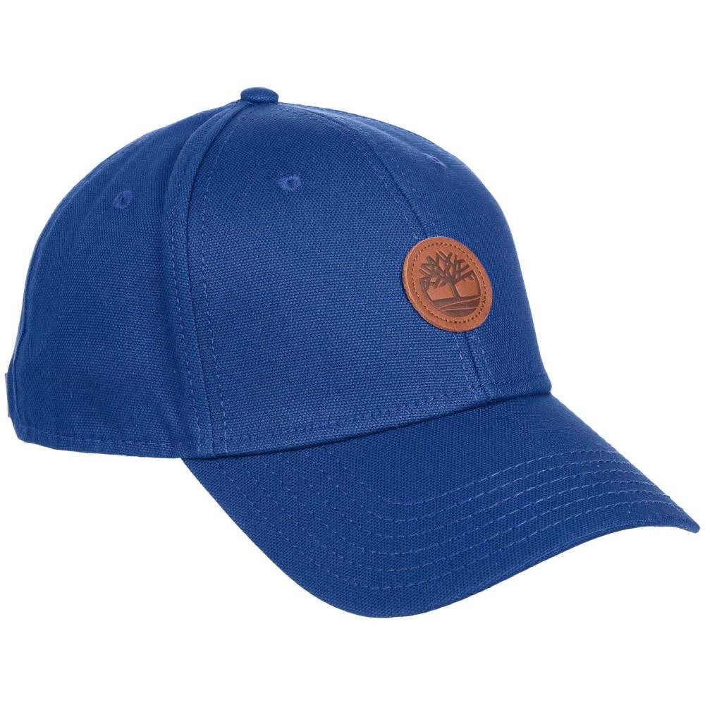 ティンバーランド メンズ 帽子 キャップ【Cotton Baseball Cap】Swedish Blue