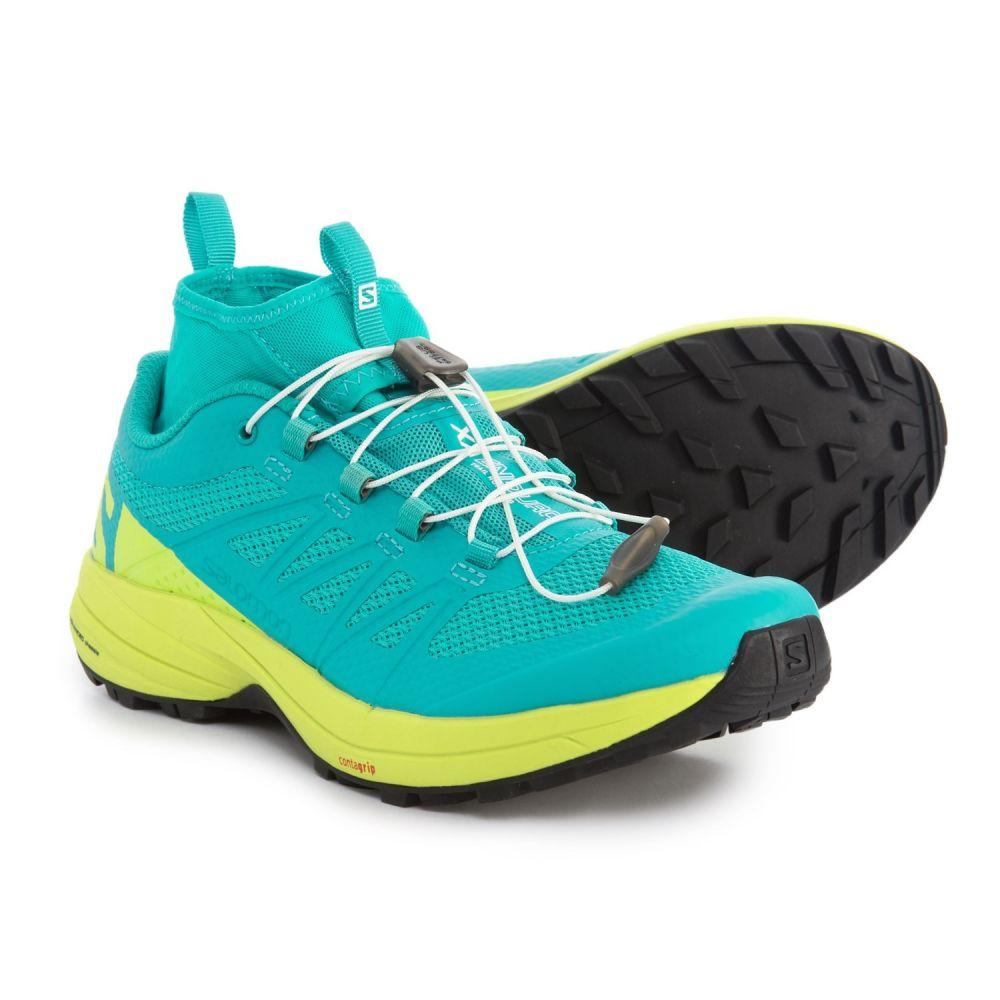 サロモン レディース ランニング・ウォーキング シューズ・靴【XA Enduro Trail Running Shoes】Ceramic/Lime Punch/Black