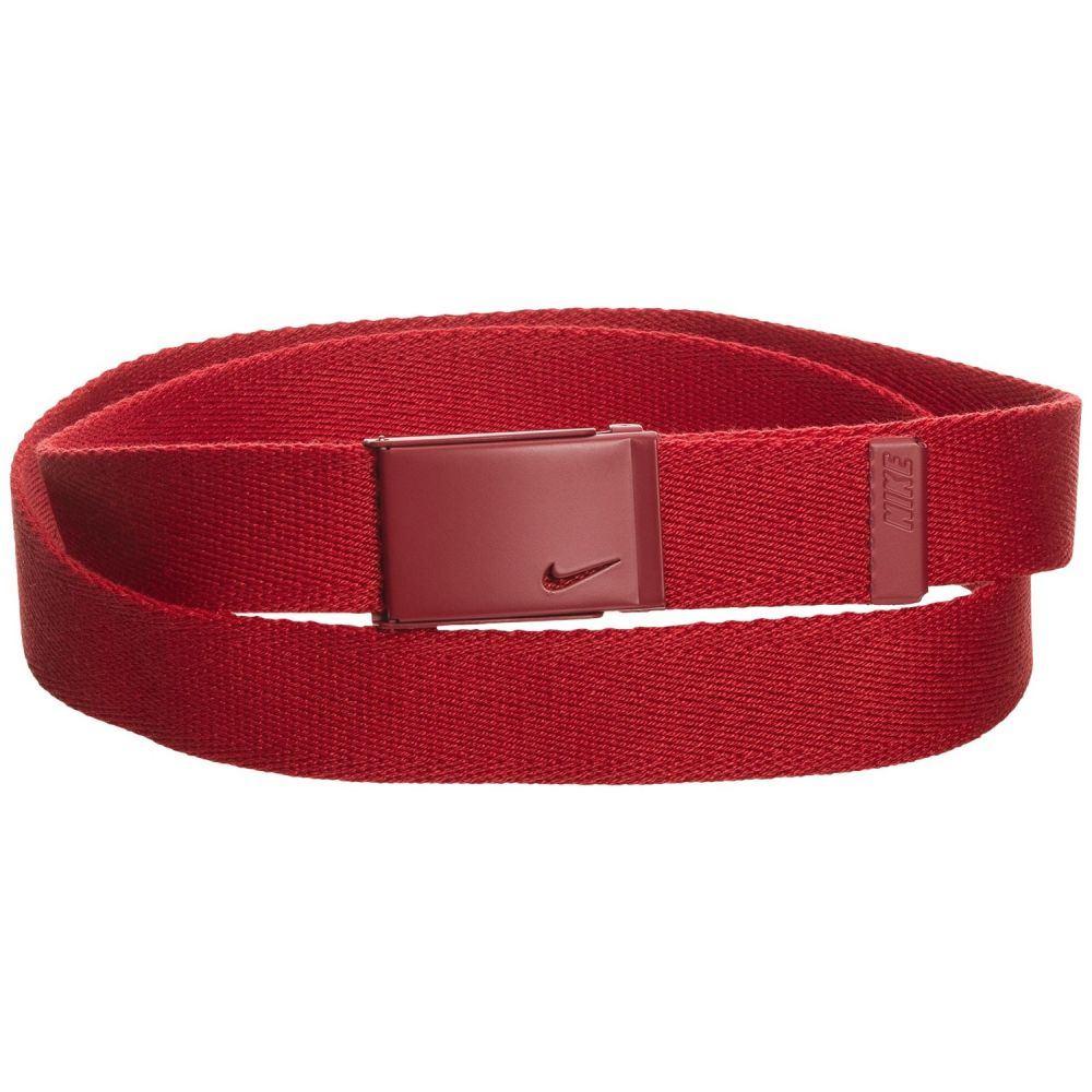 ナイキ レディース ベルト【Tech Essential Single Web Belt】Varsity Red