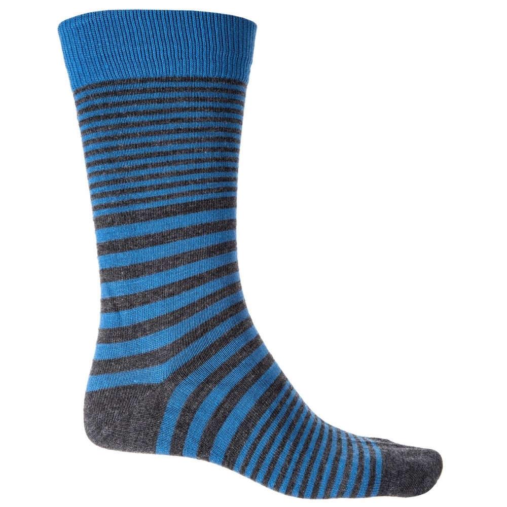ティンバーランド Timberland メンズ インナー・下着 ソックス【Striped Socks - Merino Wool, Crew】Nebulas Blue