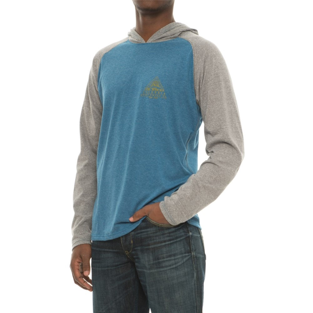 コロンビア Columbia Sportswear メンズ ハイキング・登山 トップス【Trail Shaker Hooded Shirt - Omni-Wick, Long Sleeve】Phoenix Blue/Charcoal Heather