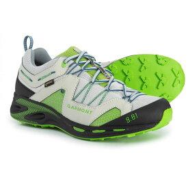 ガルモント Garmont メンズ ランニング・ウォーキング シューズ・靴【9.81 Trail Pro III Gore-Tex Trail Running Shoes - Waterproof】Light Grey/Green