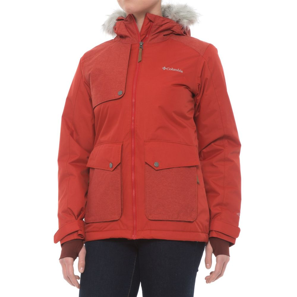 コロンビア Columbia Sportswear レディース スキー・スノーボード アウター【Sportswear Alpine Vista Omni-Tech Ski Jacket - Waterproof, Insulated】Sail Red
