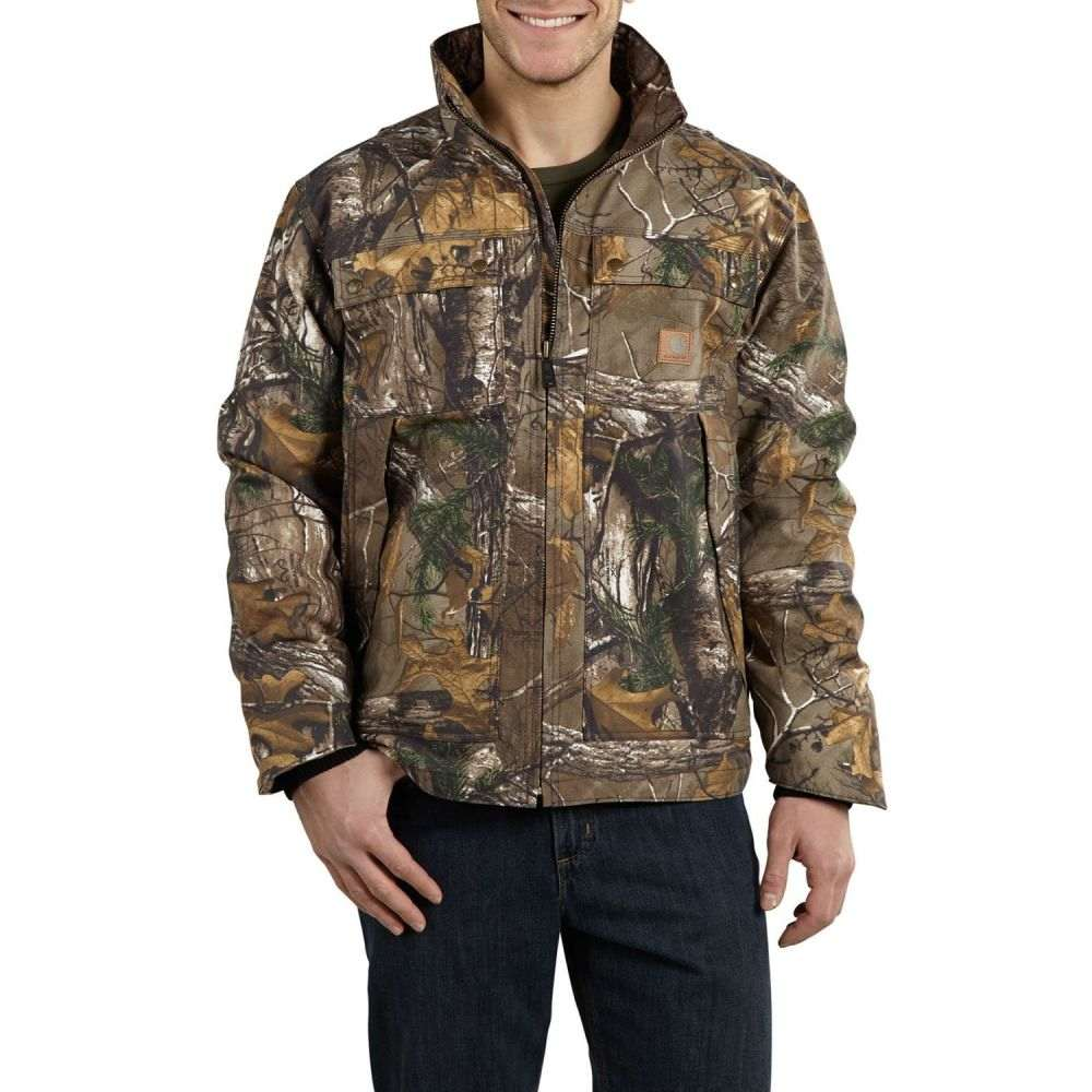カーハート Carhartt メンズ アウター レインコート【Quick Duck Rain Defender Traditional Jacket - Insulated】Realtree Xtra