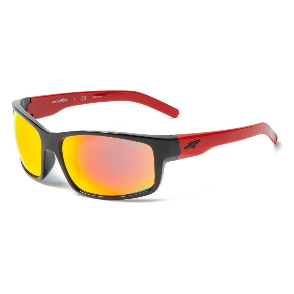 アーネット Arnette メンズ メガネ・サングラス【Fastball Sunglasses】Black/Red