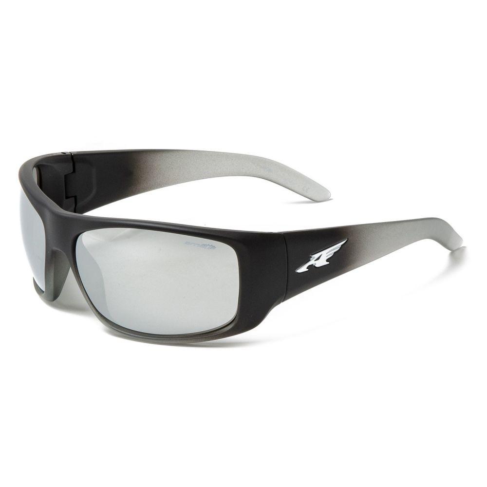 アーネット Arnette メンズ メガネ・サングラス【La Pistola Mirror Sunglasses】Fuzzy Black/Taslucent/Light Grey/Silver