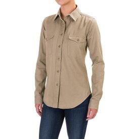フィルソン Filson レディース トップス 長袖Tシャツ【Drill Chino Shirt - Long Sleeve】Khaki