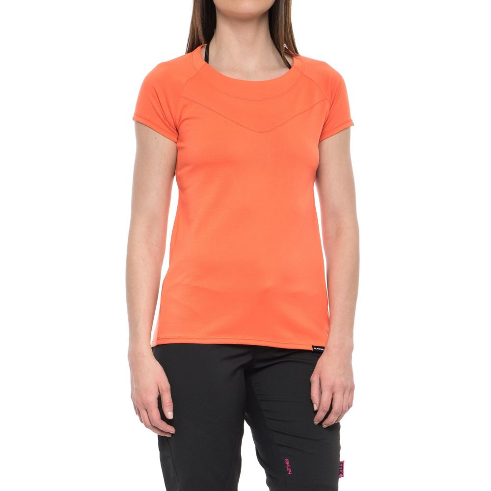 ダカイン DaKine レディース 自転車 トップス【Faye Cycling Jersey - Short Sleeve】Bright Coral