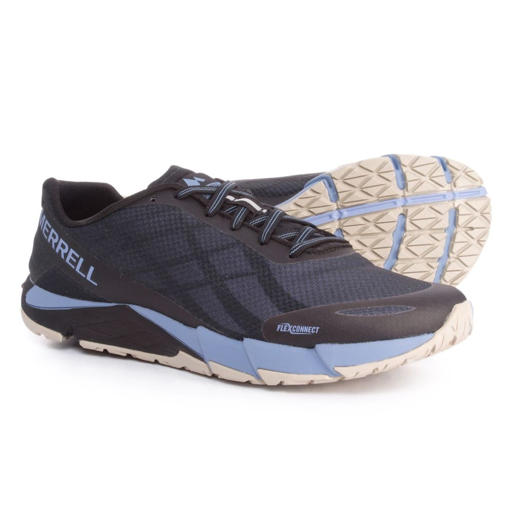 メレル Merrell レディース ランニング・ウォーキング シューズ・靴【Bare Access Flex Trail Running Shoes】Black/Metalic Lilac