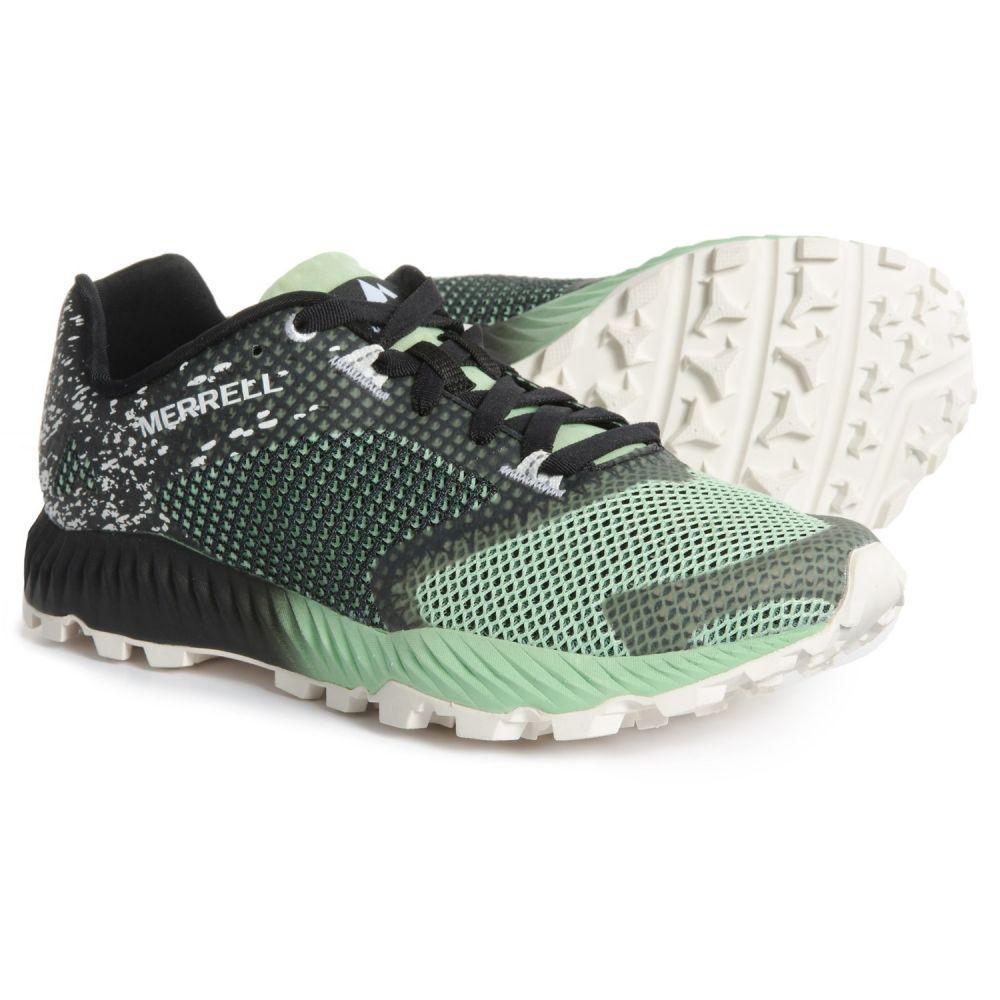 メレル Merrell レディース ランニング・ウォーキング シューズ・靴【All Out Crush 2 Trail Running Shoes】Black Ash