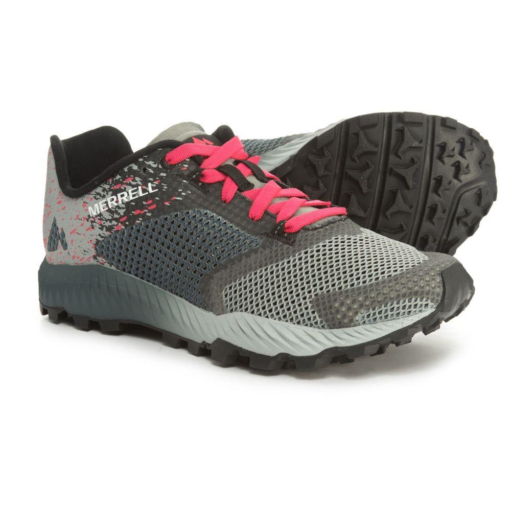 メレル Merrell レディース ランニング・ウォーキング シューズ・靴【All Out Crush 2 Trail Running Shoes】Slate