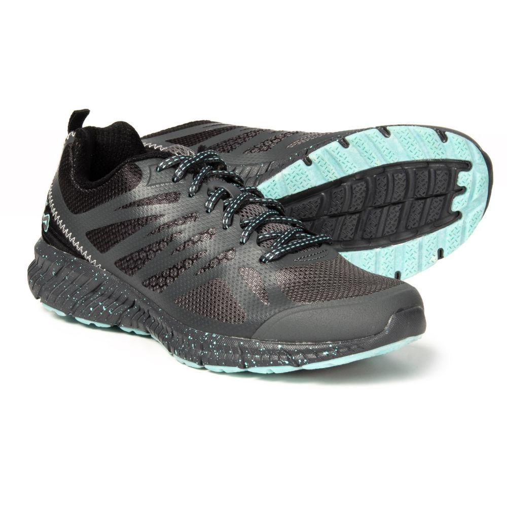 フィラ Fila レディース ランニング・ウォーキング シューズ・靴【Memory Speedstride Trail Running Shoes】Dark Shadow/Black/Aruba Blue